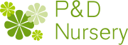 P&D Nursery Logo